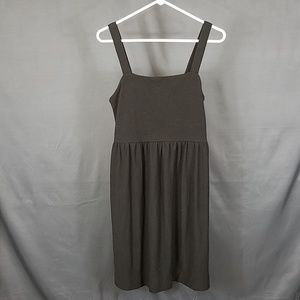 3 for $12- LOFT  small brown ribbed dress